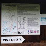 Ferrata Rocca Candelera 19 directions approach