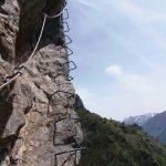 Ferrata Rocca Candelera 3 edge