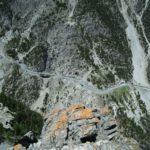 Ferrata Rocca Clarì 5 airy
