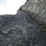 Ferrata Rocca Clarì 6 bionic ladder