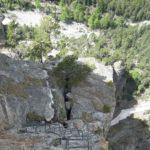 Ferrata Rocca Clarì 7 bionic ladder 2
