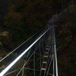 Ferrata Rocca dei Corvi 17 suspension bridge