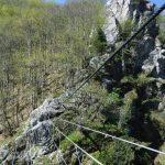 Ferrata Rocca dei Corvi 4 suspension bridge
