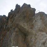 Ferrata Rocca dei Corvi 42 descent