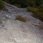Ferrata Rocca dei Corvi 45 descent