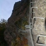 Ferrata Rocca dei Corvi 46 descent