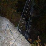 Ferrata Rocca dei Corvi 47 descent