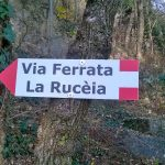 Ferrata Ruceia 5 sign