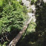 Ferrata Salemm 15 suspension bridge