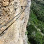 Ferrata Sant Antone 3 traverse
