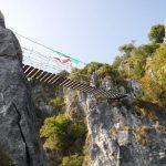 Ferrata Sass Brusai 4 bridge