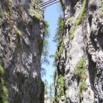 Ferrata Sass de Rocia 4 bridge