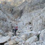 Ferrata Sass de la Crusc e Sasso Dieci salita su roccia