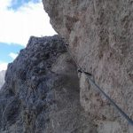Ferrata Sci Club 18 10 traverse