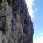 Ferrata Sci Club 18 9 traverse