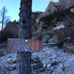 Ferrata Ski Club 18 Cartel Approach