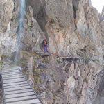 Ferrata Sentiero dei Fiori 24 passerelle