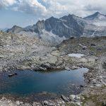 Ferrata Sentiero dei Fiori 53 lago scuro passo presena