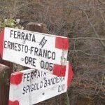 Ferrata Spigolo Bandiera 3 Crossroads