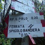 Ferrata Spigolo Bandiera 7