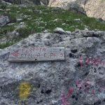 Ferrata Stella Alpina 25 deviazione ferrata