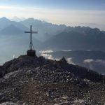Ferrata Stella Alpina 26 cima