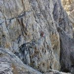Ferrata Stella Alpina 30 salita all agner tratto attrezzato