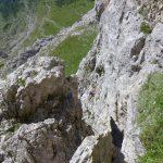 Ferrata Stella Alpina 49 difficile tratto