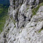 Ferrata Stella Alpina 51 tratto verticale