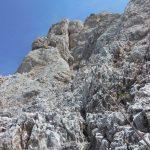 Ferrata Stella Alpina 65 tratti attrezzati salita agner