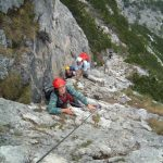 Ferrata Strobel Start