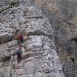 Ferrata Strobel wall