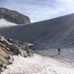 Ferrata Terzulli Adamello 21 a sinistra del ghiacciaio