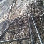 Toblin via ferrata ladders