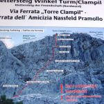 Ferrata Torre Clampil 12 sign