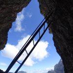 Ferrata Torre Toblin Scalette 4
