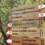 Ferrata Tridentina Pisciadu Cartelli 2