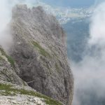Ferrata Tridentina Pisciadu Gangway 2
