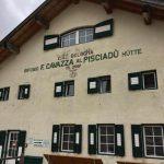 Ferrata Tridentina Pisciadu Hut Cavazza