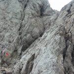 Ferrata Uiberlachersteig 11 downhill aided canal high via cai pontebba