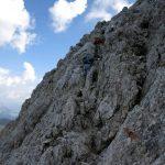 Ferrata Uiberlachersteig 24 last stretch aided