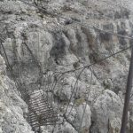 Ferrata Vallon bridge 2