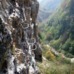 Ferrata Viali 40 overhanging exit