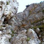 Ferrata Viali 47 second ladder