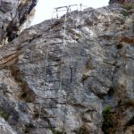 Ferrata Viali 48 second ladder