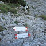 Ferrata Zacchi 11 mormol crossroads