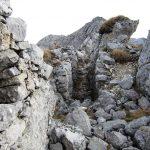 Ferrata Zermula 16 trenches