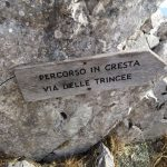 Ferrata Zermula 3 ridge route via the trenches