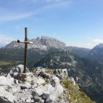 Ferrata Zuc Guardia 11 cross top