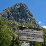 Ferrata Zuc Guardia 17 start sign